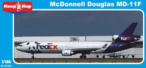 Micro-Mir 1/144 McDonnell-Douglas MD-11F FedEx # 144-023