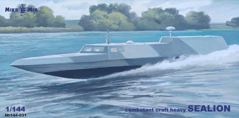 Micro-Mir 1/144 Sealion Combatant Craft Heavy # 144-031