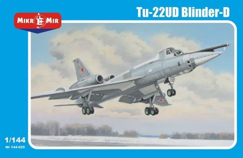 Micro-Mir 1/144 Tupolev Tu-22UD Blinder-D # 144-025