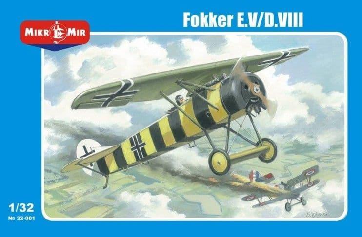 Micro-Mir 1/32 Fokker E.V/D.VIII # 32-001