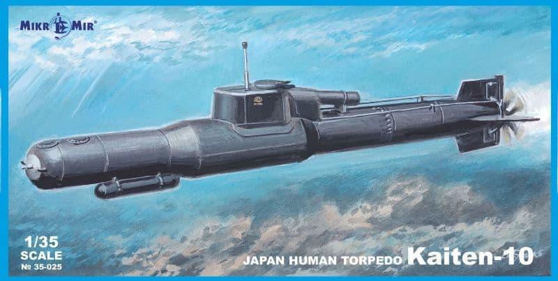 Micro-Mir 1/35 Kaiten-10 Japan Human Torpedo # 35-025
