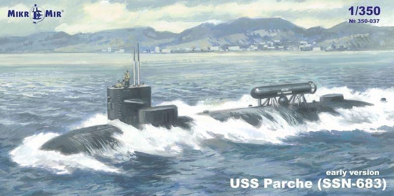 Micro-Mir 1/350 USS Parceh (SSN-683) # 350-37