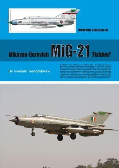 Mikoyan MiG-21 'Fishbed' - By Vladimir Trendafilovski