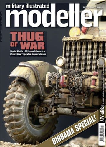 Military Illustrated Modeller (Issue 102) October 2019 (AFV Edition) 'Thug of War'