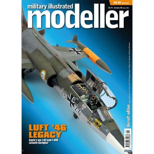 Military Illustrated Modeller (Issue 105) January '20 (Aircraft Edition) - Luft '46 Legacy