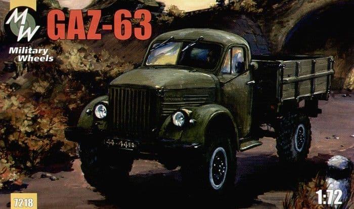 Military Wheels 1/72 GAZ-63 # 7218