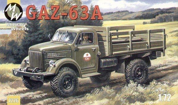 Military Wheels 1/72 GAZ-63A # 7226