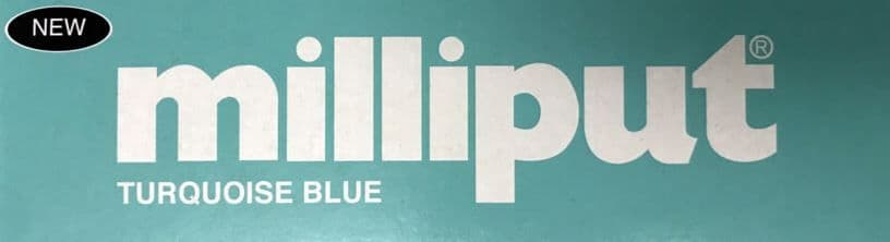 Milliput - 113.4g Turquoise Blue Putty