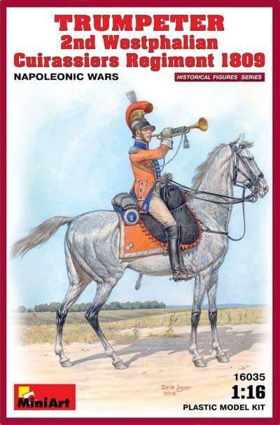 Miniart 1/16 Trumpeter 2nd Westphalian Cuirassiers Regiment 1809
