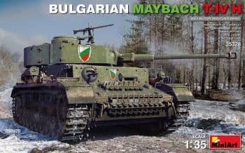 Miniart 1/35  Bulgarian Maybach T-IV H Tank # 35328