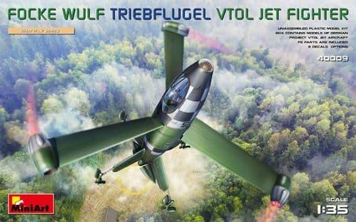 Miniart 1/35 Focke-Wulf Triebflugel VTOL Jet Fighter # 40009