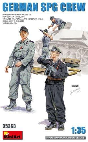 Miniart 1/35 German SPG Crew # 35363