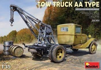 Miniart 1/35 Tow Truck AA Type # 35351