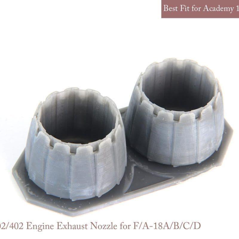 Mk.1 Design 1/32 McDonnell-Douglas F/A-18A+/B/C/F/D Exhaust Nozzle Set (Opened) # MA-32018