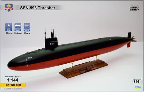 Modelsvit 1/144 USS Thresher (SSN-593) Submarine # 1401