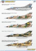 Modelsvit 1/72 Dassault Mirage IIICJ # 72062