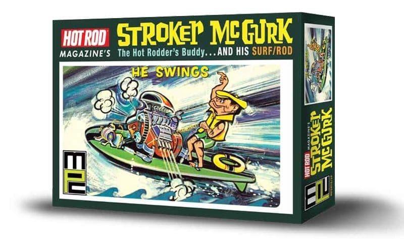 MPC - Hot Rod Magazine Stroker McGurk The Hot Rodder's Buddy & His Surf/Rod # 873