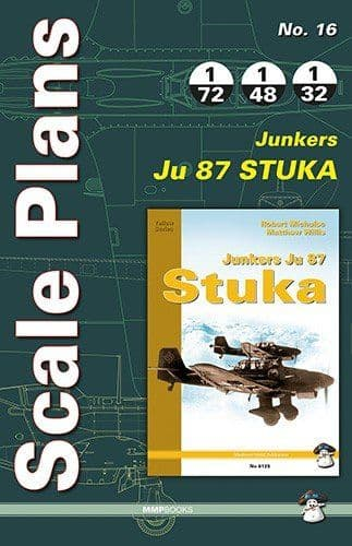 Mushroom - Scale Plans No.16 Junkers Ju-87 Stuka Dariusz Karnas # 016