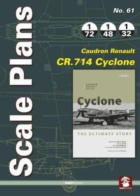 Mushroom - Scale Plans No.61 Caudron Renault CR.714 Cyclone Franciszek Strzelczyk # 061