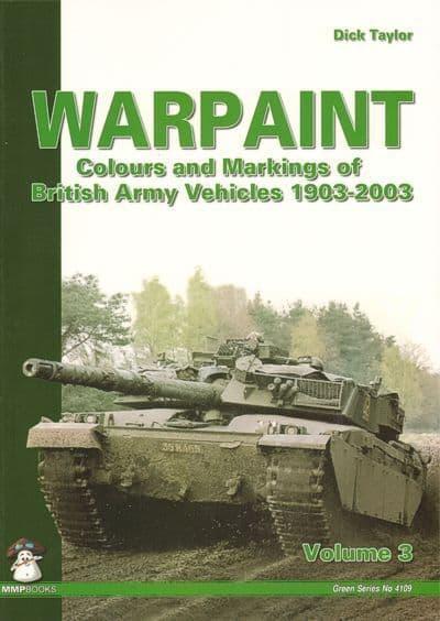 Mushroom - Warpaint: Colours & Markings of British Army Vehicles 1903-2003 (Green Series) Vol. 3 Dic