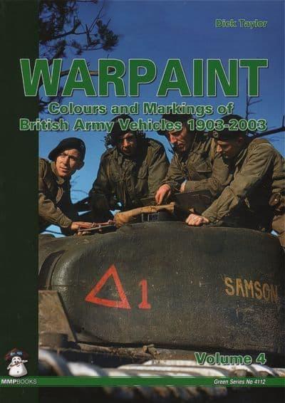Mushroom - Warpaint: Colours & Markings of British Army Vehicles 1903-2003 (Green Series) Vol. 4 Dic