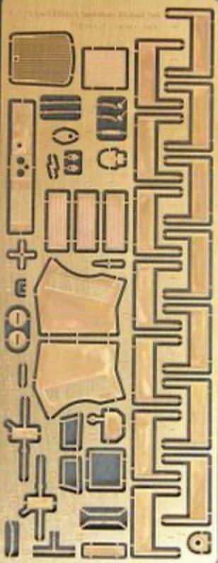 NH Detail 1/72 Opel Blitz Omnibus Detail Set # NHM72030
