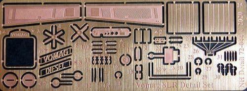 NH Detail 1/72 Vomag 8LR Omnibus Detail Set # NHM72044