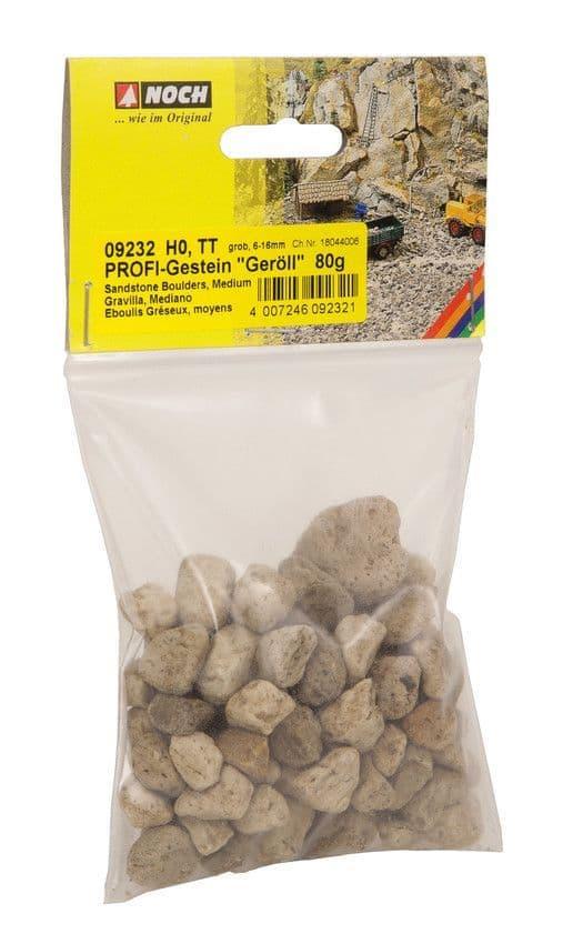 NOCH - Coarse Rubble 6-16mm Profi Rocks (80G) # N09232