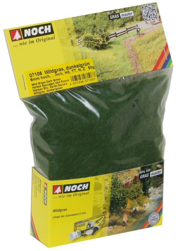 NOCH - Dark Green Wild Grass 6mm (50G) # N07106