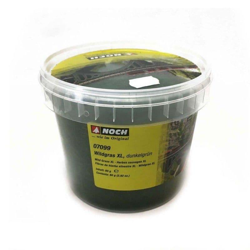 NOCH - Dark Green Wild Grass XL 12mm (80G) # N07099