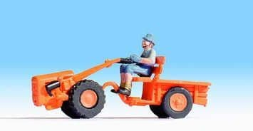 NOCH HO/OO Scale Two Wheel Tractor # N16751