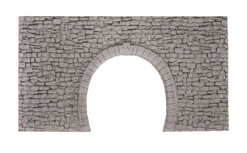 NOCH HO Scale Double Track Narrow Gauge Hard Foam Tunnel Portal # N58027