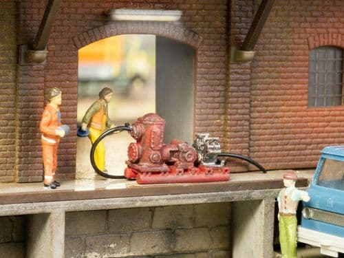 NOCH HO Scale Drainage Pump 3D Mini (Pre-built) # N13752