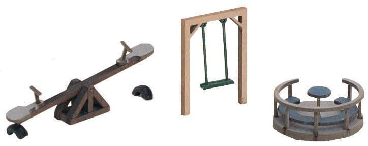 NOCH HO Scale Play Equipment (3) # N14368
