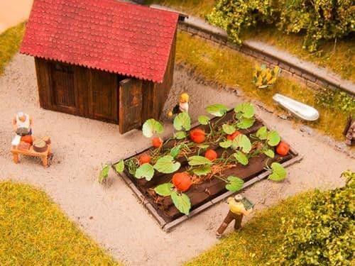 NOCH HO Scale Pumpkins (8) Deco Minis # N13219