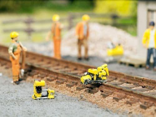 NOCH HO Scale Rail Maintenance Set 3D Mini (Pre-built) # N13640