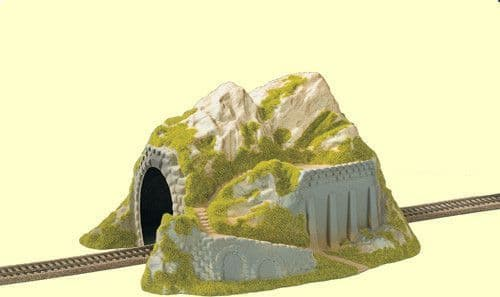 NOCH HO Scale Single Track Straight Tunnel # N02221