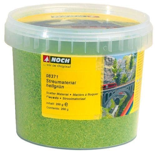 NOCH - Light Green Scatter Material (200G) # N08371
