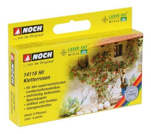 NOCH - Roses (6) Laser Cut Minis Kit # N14118