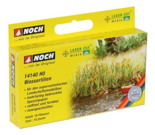 NOCH - Water Lilles (18) Laser Cut Minis Kit # N14140