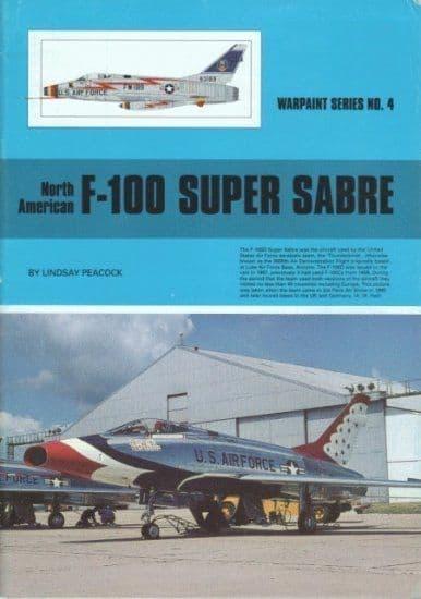 North-American F-100 Super Sabre - by Lindsay Peacock