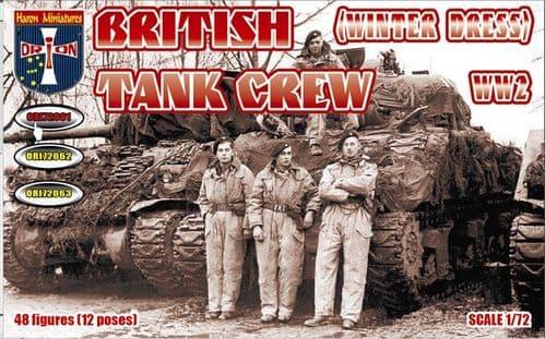 Orion 1/72 British WWII Tank Crew (Winter Dress) # 72061