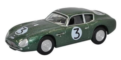 Oxford 1/76 Aston Martin DB4GT Zagato VEV 2 (Plain) # 76AMZ002