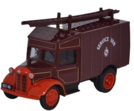 Oxford 1/76 Austin ATV Newcastle & Gateshead Fire Service # 76ATV008