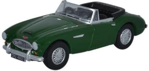 Oxford 1/76 Austin Healey 3000 British Racing Green # 76AH3004