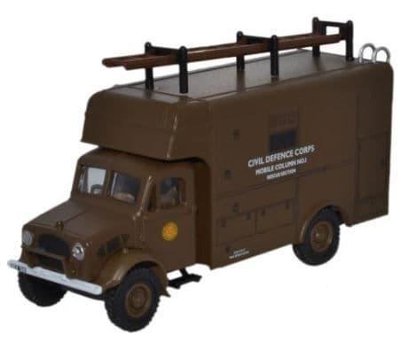 Oxford 1/76 Bedford OY Van Civil Defence # 76BD019