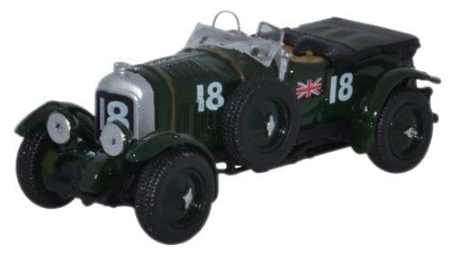 Oxford 1/76 Bentley Blower French Grand Prix 1930 No.18 Birkin # 76BB002