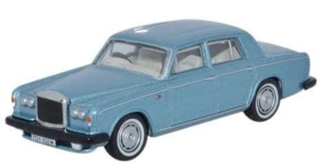 Oxford 1/76 Bentley T2 Saloon Caribbean Blue # 76BT2001