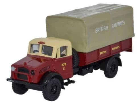 Oxford 1/76 British Rail Bedford OY 3 Ton GS # 76BD005