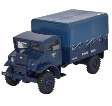 Oxford 1/76 CMP LAA Tractor Royal Blue # 76CMP003